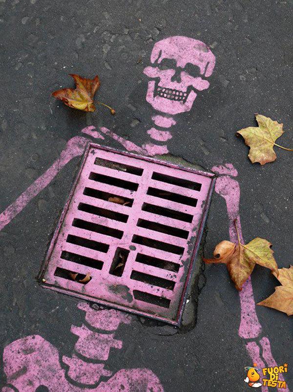 S.O.B. IMMAGINI DIVERTENTI, VIDEO STRANI E BIZZARRI - Pagina 36 Geniali-artisti-di-strada