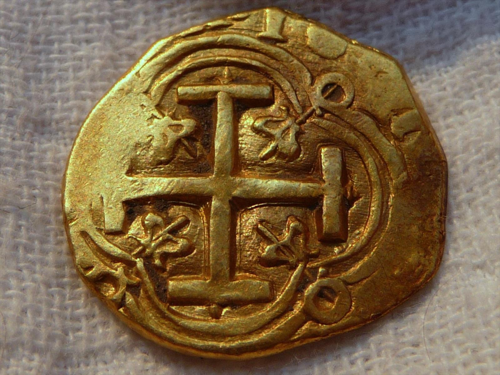 2 esducos de Felipe IV. Nuevo Reino 2E-XXX-B