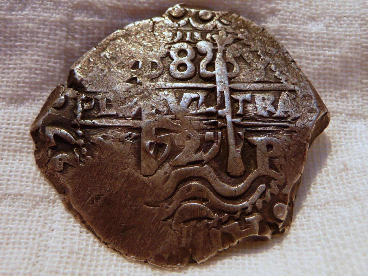 8 Reales de Luis I (Potosi, 1727) ensayador Y 8R-1727-Lima-Luis-I-A