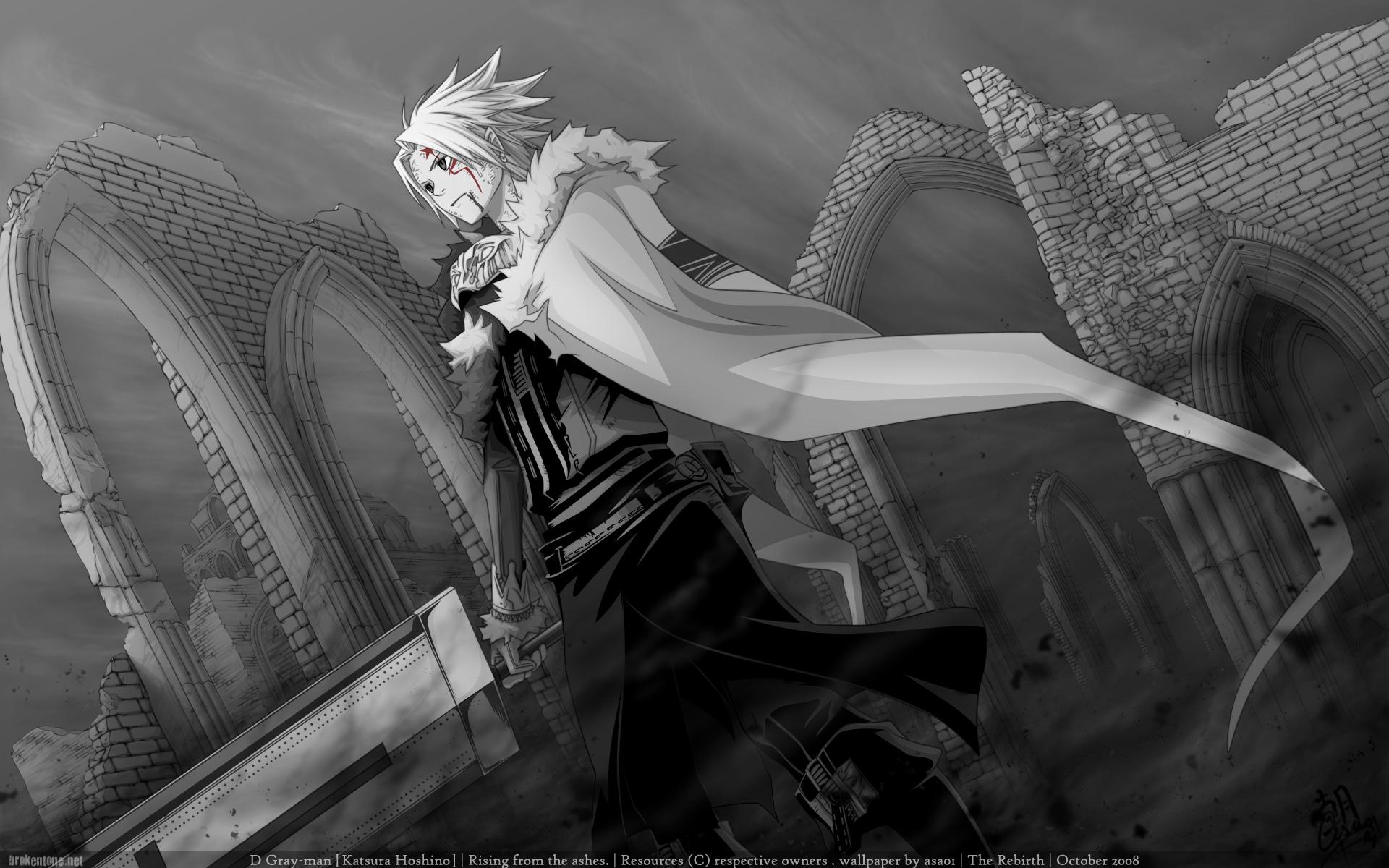 100 Wallpapers de anime HD Anime-men-with-blade_1920x1200