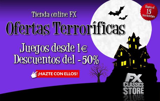 OFERTAS FX TERRORIFICAS DESDE 1€ Y 50% Principal-halloween
