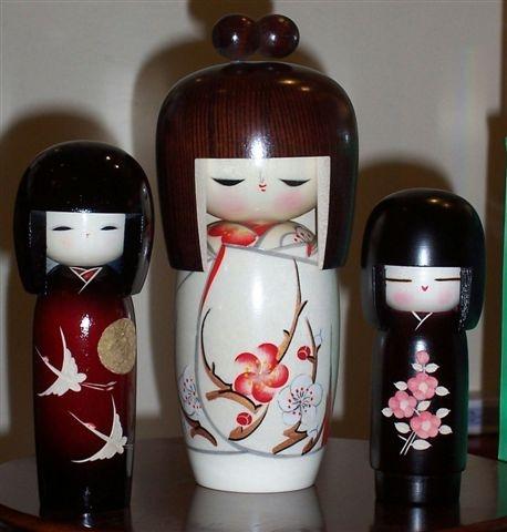 Kokeshi dolls (Prodotti) Kokeshi