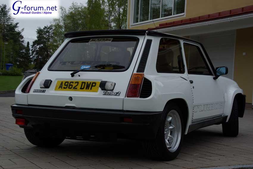 Renault 5 Turbo 2 Finland R5t57