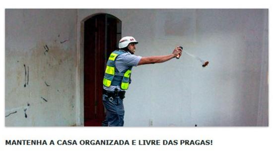 Policial que disparou spray de pimenta em jornalista vira meme Policial-03