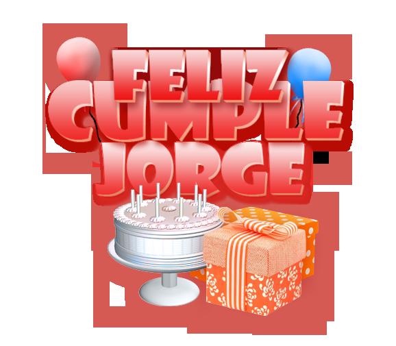 Feliz cumple Ramojor Jorge