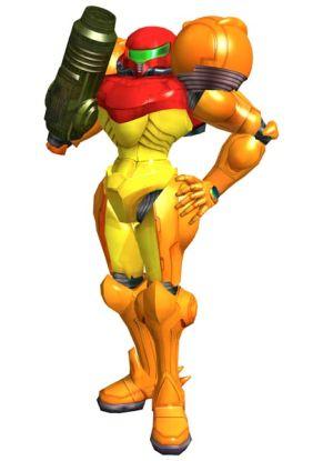 Les personnages principaux des jeux vidéos Samus