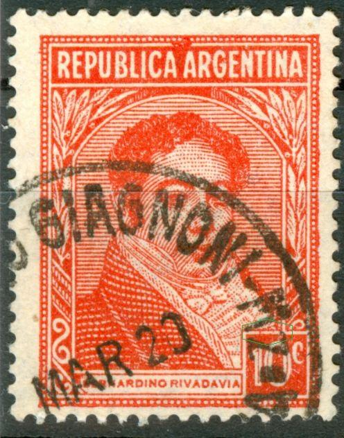 Wasserzeichen Arg_1935_10c_rivadavia_red_type_III_00