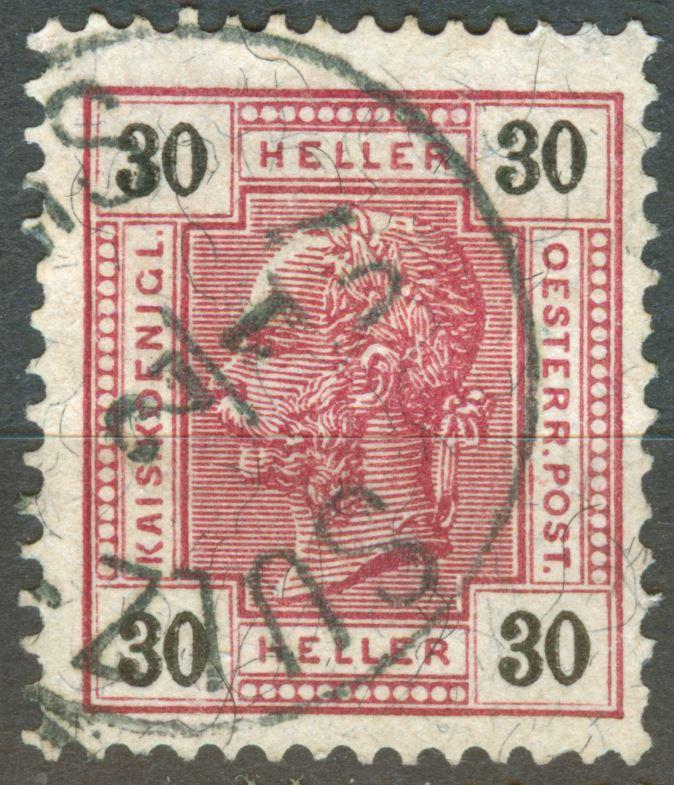 Österreich - Schwarze Fasern - liegend oder stehend! At_1904_30h_M_10