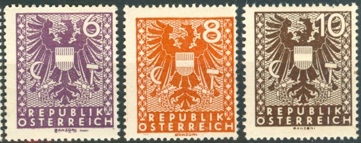1945 Wappenzeichnung At_1945_wappen_deel_2