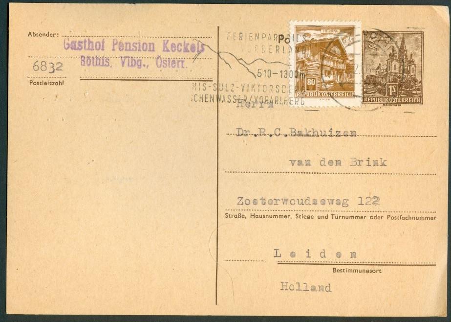 """Bauwerke und Baudenkmäler """"Bautenserie"""" - Seite 2 At_1957_1s_mariazell_kaart_bdr_00"""