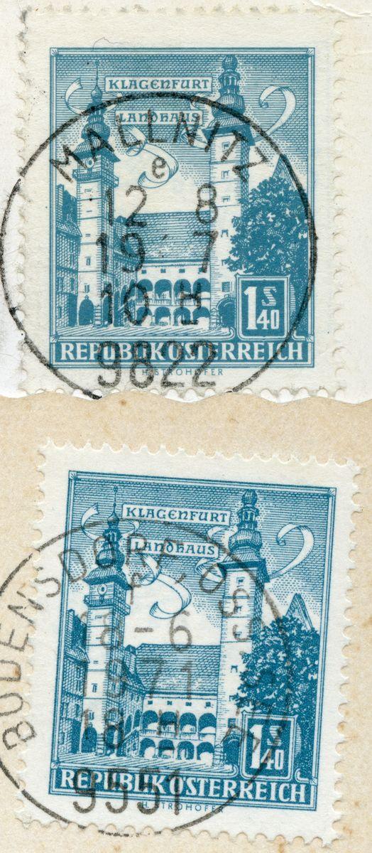 """Bauwerke und Baudenkmäler """"Bautenserie"""" - Seite 5 At_1957_bauten_140_100"""