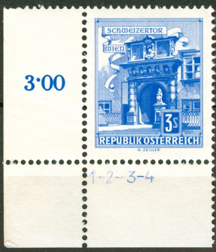 Besonderheiten der Philatelie - Seite 7 At_1957_bauten_3s_kreuzperf_00
