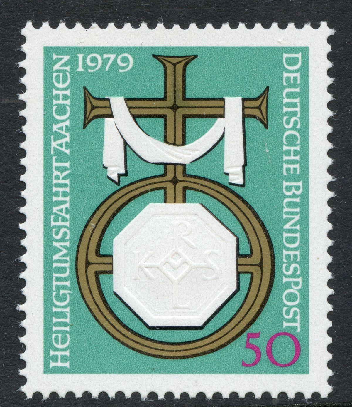 Prägedruck 1860-1900 in der Schweiz und in den deutschen Staaten De_1979_aachenx00