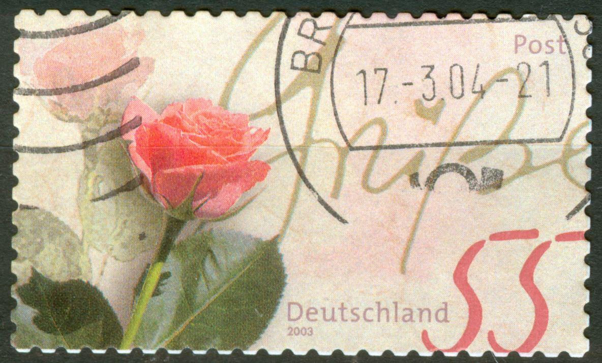 Bund 2003 Rosengruss - Rasterunterschiede! Und mehr! De_2003_rosen_gruss_selbstklebend_mi_rot_r90_10