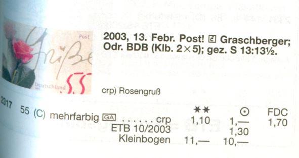 Bund 2003 Rosengruss - Rasterunterschiede! Und mehr! De_2003_rosen_gruss_selbstklebend_michel_02
