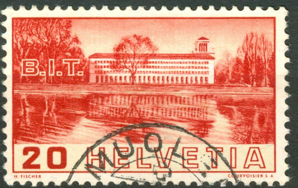 Tête-bêche Bogen bei Rakeltiefdruck Courvoisier S.A.  Ch_1938_bit_20_L_00