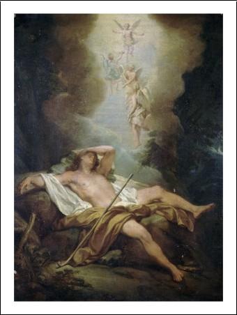 L'art et la mort dans l'imaginaire collectif (par les plus grands artistes de tout les temps) Nicolas-bertin-le-songe-de-jacob-n-7317707-0