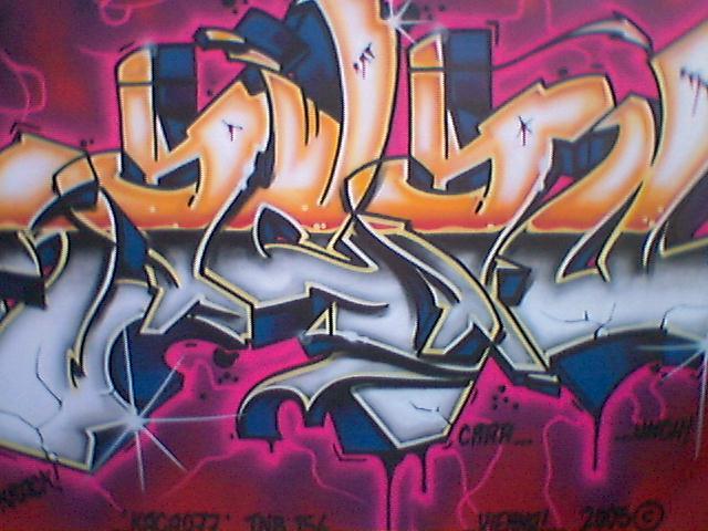 guess what it says Graffiti1