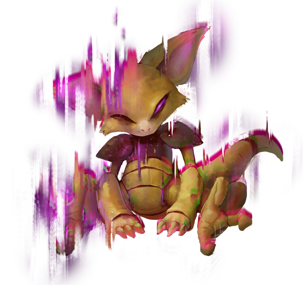 Balthazar (Dee-Dee | Harley) Abra-used-Teleport-by-Hozure-Game-Art-HQ-Pokemon-Art-Tribute