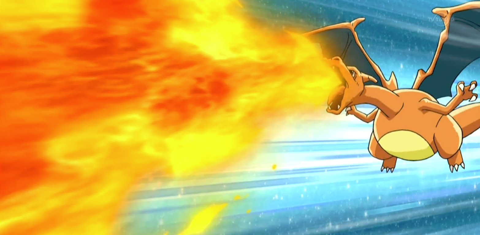 Contest #09 - Combate B Charizard-Flamethrower