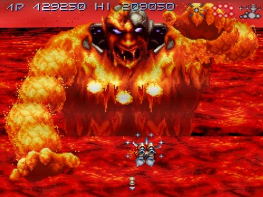 Best/Worst Bosses in Videogaming Axelay-Fire-Boss-Screenshot