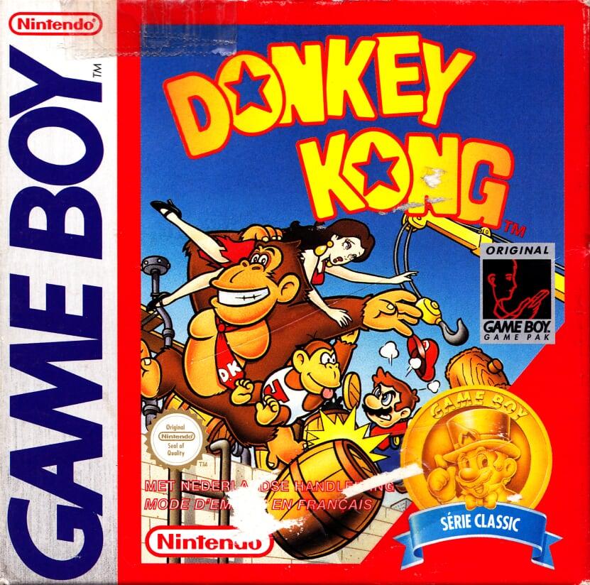 Liste des jeux format classics boîte rouge game boy 2862
