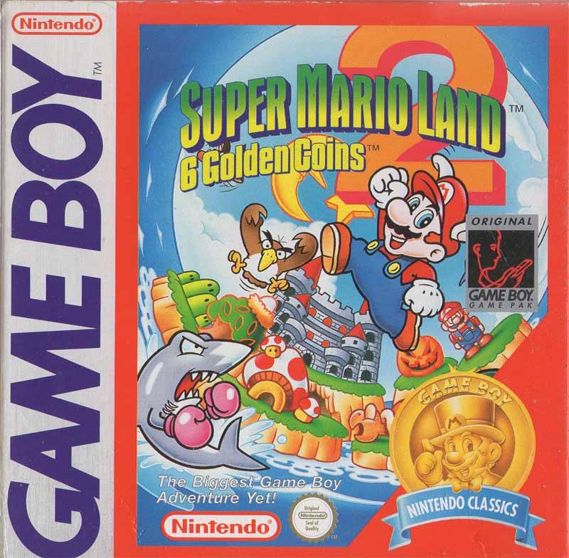 Liste des jeux format classics boîte rouge game boy 2863