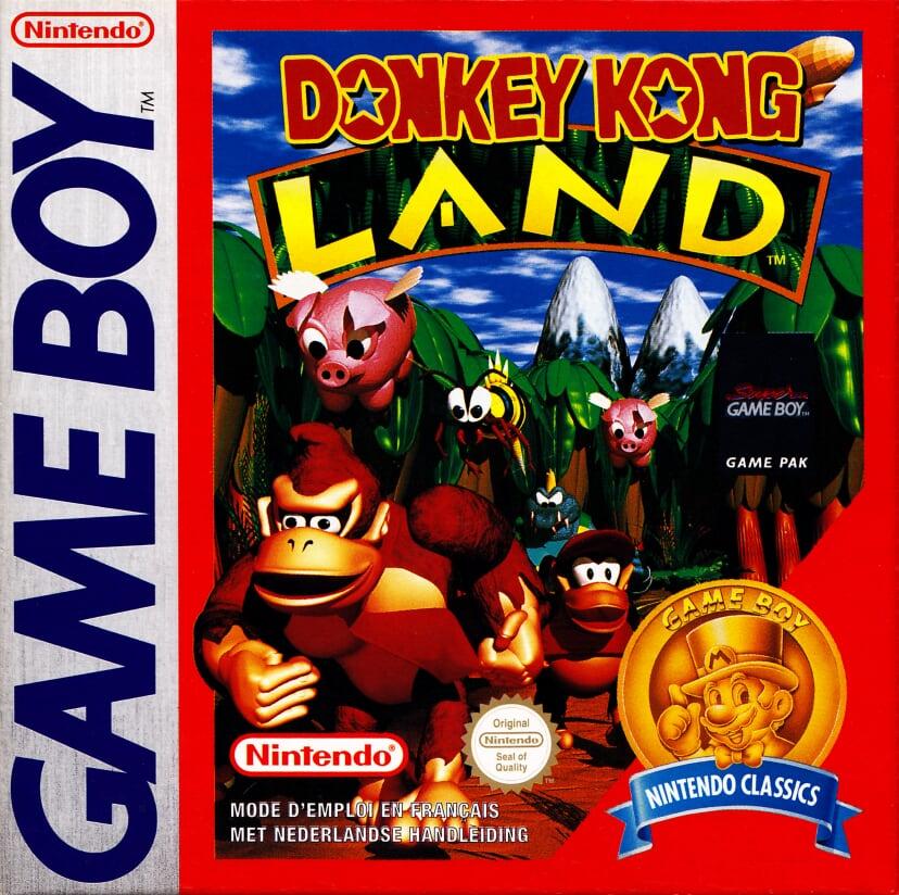 Liste des jeux format classics boîte rouge game boy 2865
