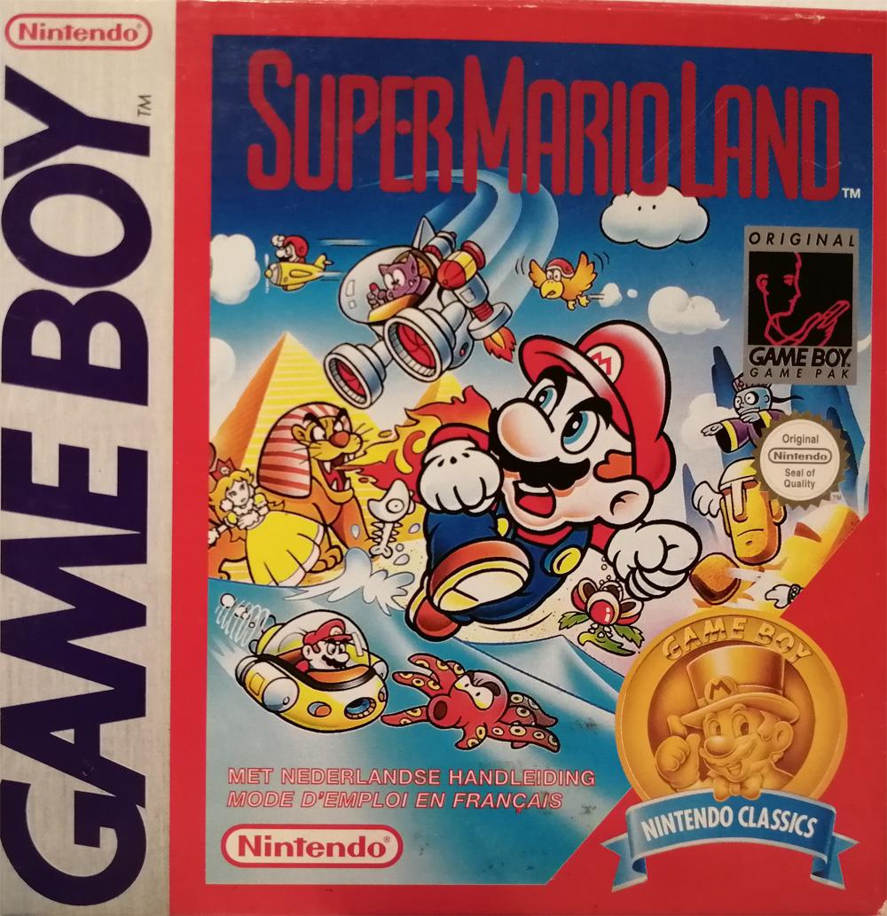 Liste des jeux format classics boîte rouge game boy 2866
