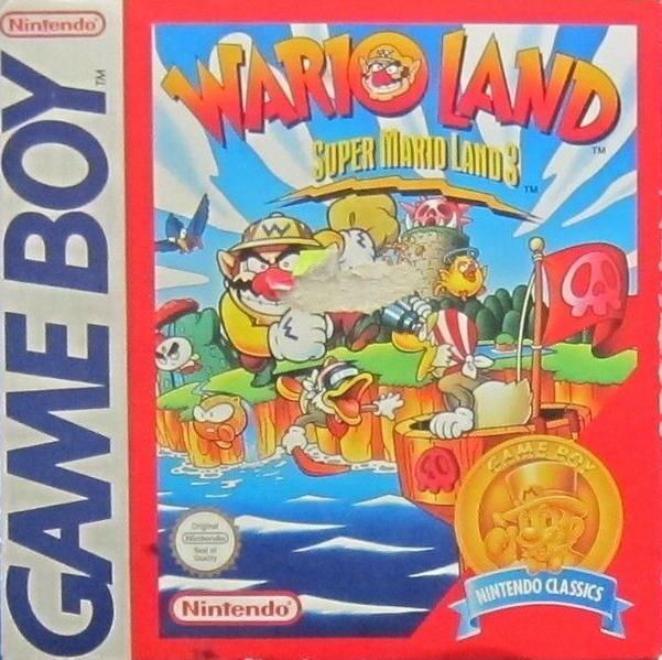 Liste des jeux format classics boîte rouge game boy 2869