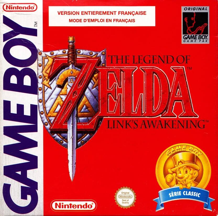 Liste des jeux format classics boîte rouge game boy 2871