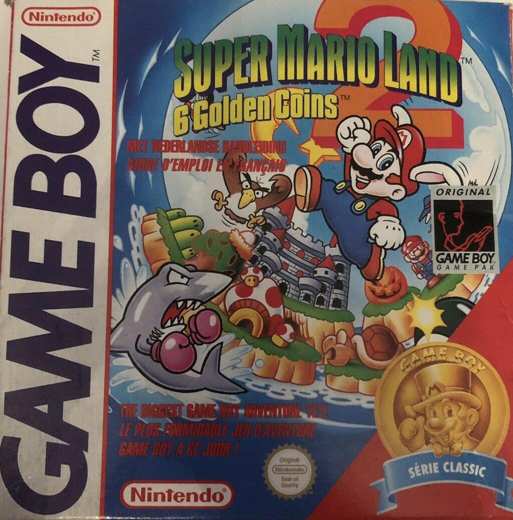 Liste des jeux format classics boîte rouge game boy 3137