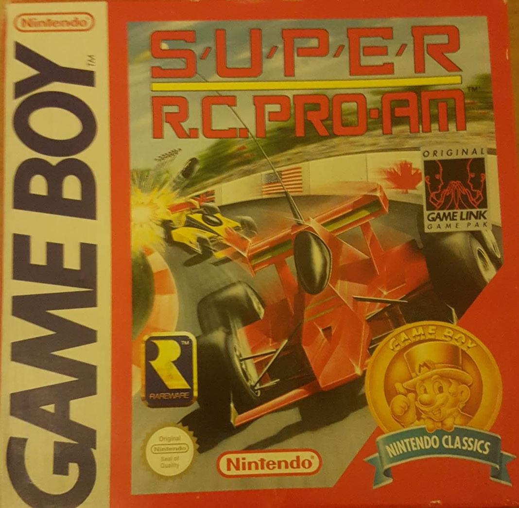 Liste des jeux format classics boîte rouge game boy 3202