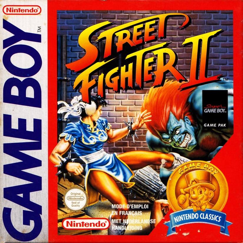 Liste des jeux format classics boîte rouge game boy 3313