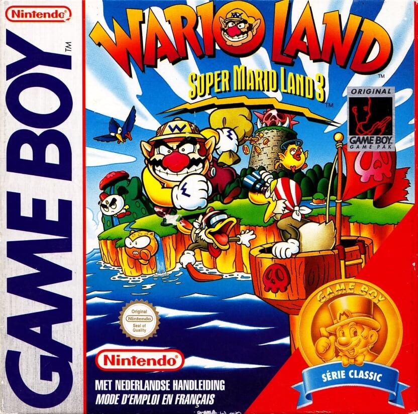 Liste des jeux format classics boîte rouge game boy 3314