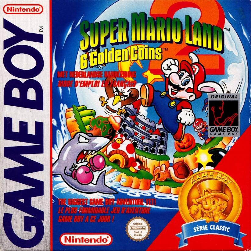 Liste des jeux format classics boîte rouge game boy 3330