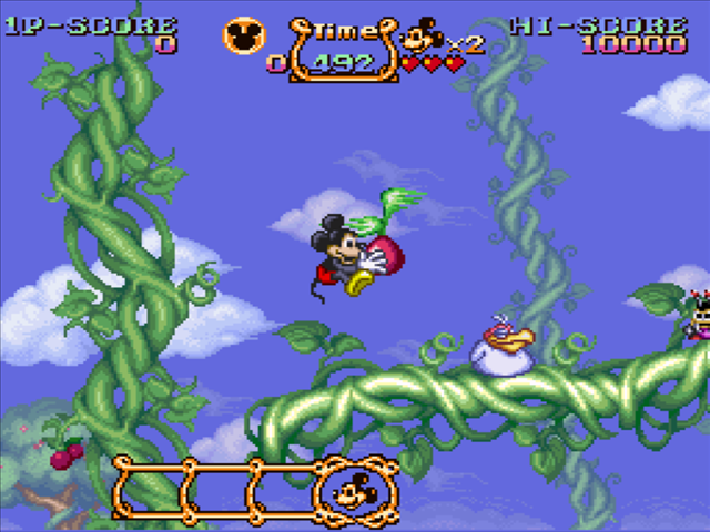 150 SNES games reviewed  - Page 3 Magical-quest-starring-mickey-mouse-03