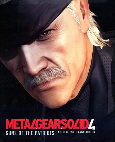 من افضل الالعاب على مستوى العالم لعبة   Metal Gear Solid 4 1-2metal-gear-solid-4-portada