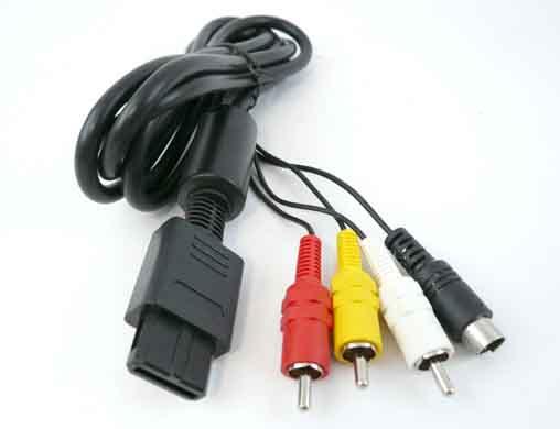 Retro - Super Nintendo: 20ans Super_nintendo_AV_Cable12894515464cdb781ab2fa8
