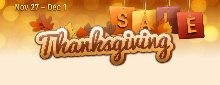 GamersGate Thanksgiving Sale 2014 Thanksgiving-top