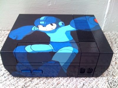 -=  CUSTOM NES  =- Mega-man-8-themed-nes