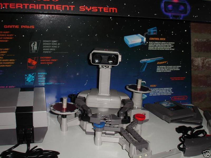 Le Site: Gamesniped! Nintendo-NES-M9-Display-RARE-Deluxe-ROB-3