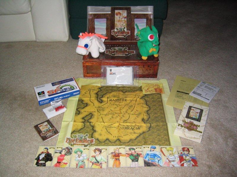 """Les """"must have"""" de la SFC - Page 2 Fire-Emblem-Thracia-776-Box-Set-Super-Famicom-1"""