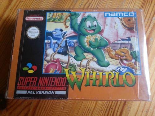 Aide résolution litige avec un mec sur ebay SNES-Whirlo-Complete-CIB-Very-Nice-Condition-Rare-Super-Nintendo-NES-Game