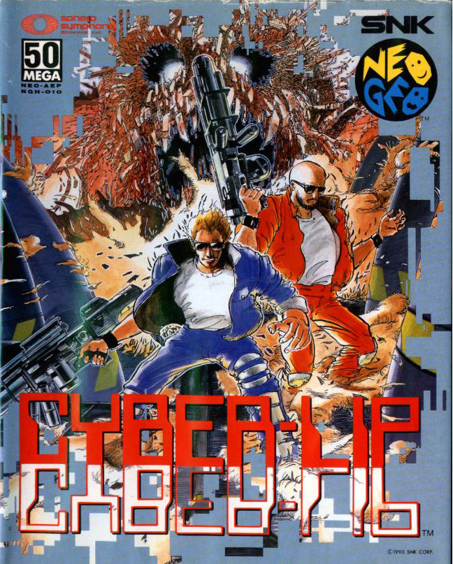 Votre Top 5 des plus belles jaquettes Neo Geo CyberLip
