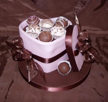 Čokoladna romantika Heartsm