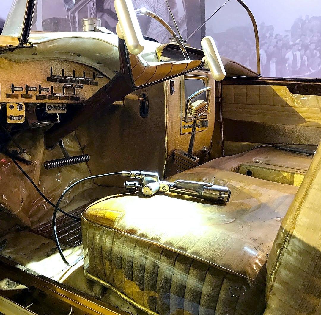 Golden Sahara I & II…première voiture autonome de l'histoire ! (+ vidéos) By gatsbyonline.com George-Barris-Golden-Sahara-12