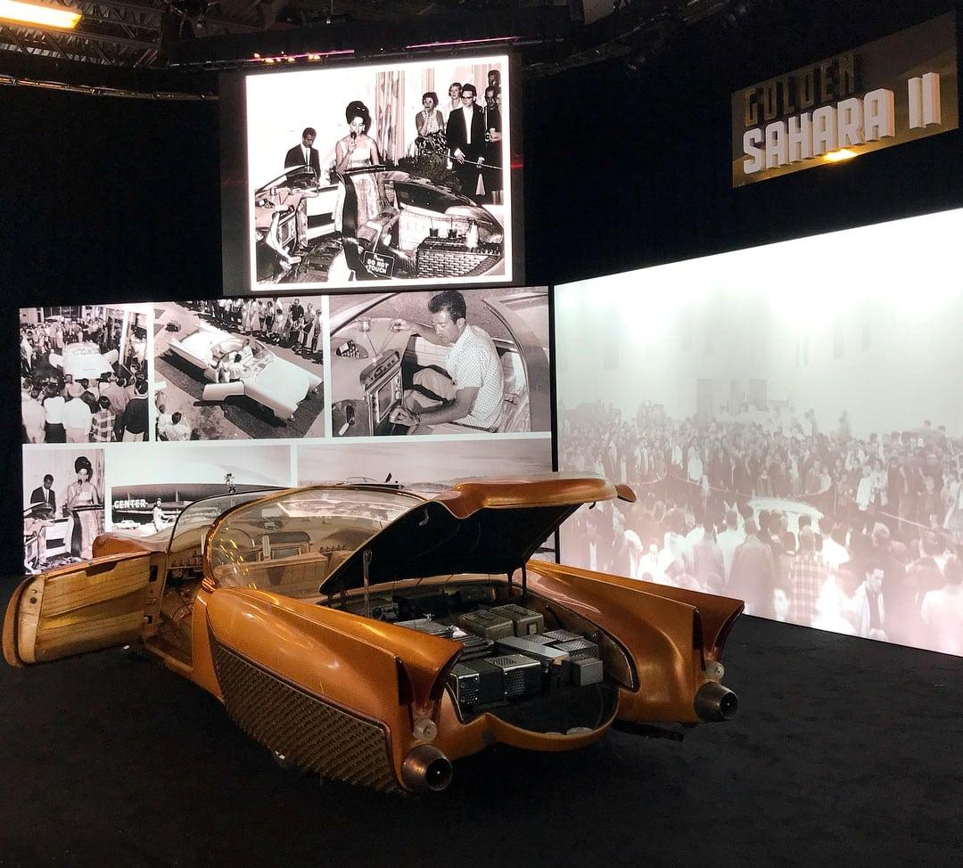 Golden Sahara I & II…première voiture autonome de l'histoire ! (+ vidéos) By gatsbyonline.com George-Barris-Golden-Sahara-20