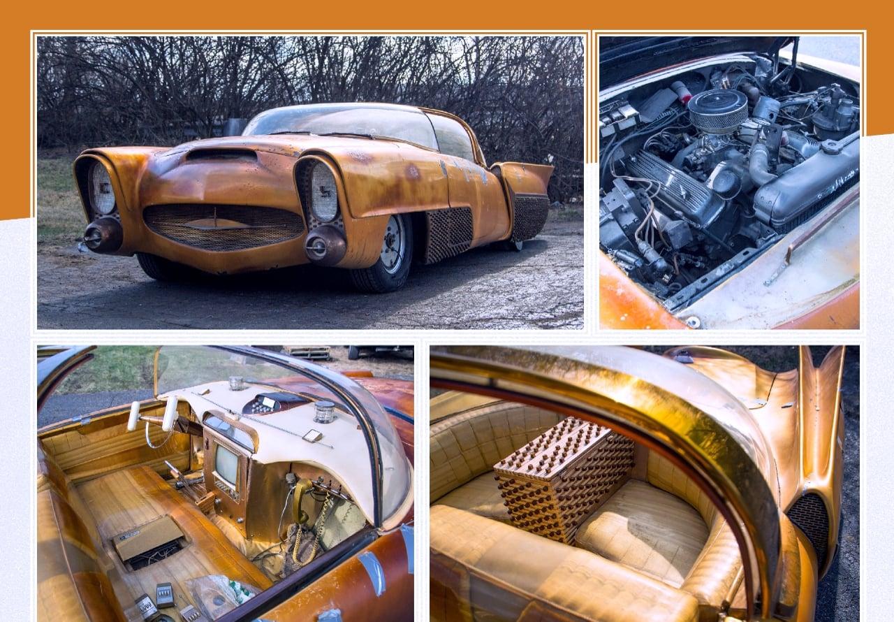 Golden Sahara I & II…première voiture autonome de l'histoire ! (+ vidéos) By gatsbyonline.com George-Barris-GoldenSaharaII-04