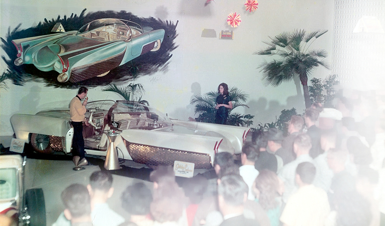 Golden Sahara I & II…première voiture autonome de l'histoire ! (+ vidéos) By gatsbyonline.com George-Barris-GoldenSaharaII-17